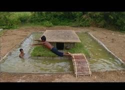 Enlace a Fabricando una bonita piscina natural desde cero