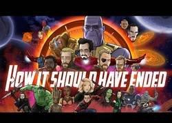 Enlace a Así debería haber terminado Avengers: Infinity War [Inglés]