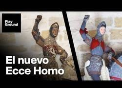 Enlace a La peor restauración desde el Ecce Homo.