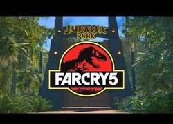 Enlace a Parque Jurásico creado con Far Cry 5