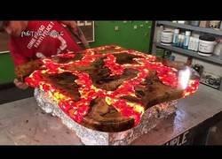 Enlace a El paso a paso para crear una mesa con efectos de lava