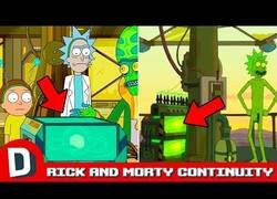 Enlace a Diez momentos para observar con atención de Rick y Morty