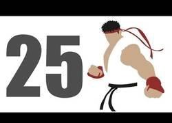 Enlace a 25 curiosidades de Street Fighter