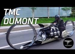 Enlace a Crean una moto sin ningún radio en sus ruedas