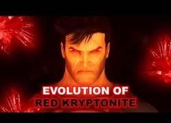 Enlace a Evolución de la Kryptonita roja en los  medios