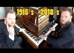 Enlace a Diferencias de sonido entre pianos de 1915 y uno de 2018