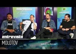 Enlace a Entrevista exclusiva con la legendaria banda de rock mexicana Molotov