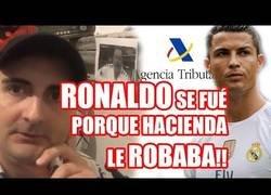 Enlace a Cristiano Ronaldo se ha ido de España porque Hacienda le robaba