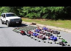 Enlace a Calculando cuantos coches por radio control son necesarios para arrastrar un coche