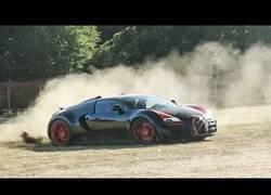 Enlace a Haciendo rally a lo loco con un Bugatti Veyron