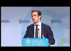 """Enlace a Pablo Casado: """"La corrupción es la seña de identidad del PP"""""""