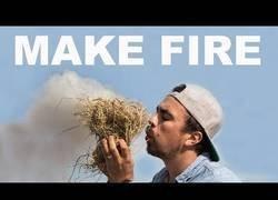 Enlace a Aprendiendo a hacer fuego en tiempo récord