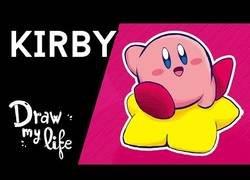 Enlace a Todas las curiosidades de Kirby en un Draw My Life