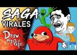Enlace a Lo vídeos más virales de Internet en un Draw My Life