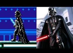 Enlace a Evolución de videojuegos de Star Wars
