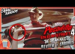 Enlace a Errores de Pesadilla en Elm Street 4 The Dream Master