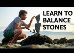 Enlace a Aprendiendo el arte de balancear piedras