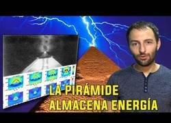 Enlace a La pirámide de Giza almacena energía electromagnética en su interior