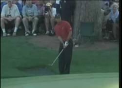Enlace a Uno de los golpeos más extraordinarios de Tiger Woods en su carrera