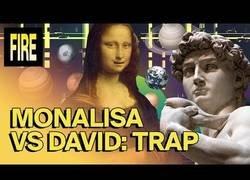 Enlace a David y la Mona Lisa se marcan un temazo de Trap