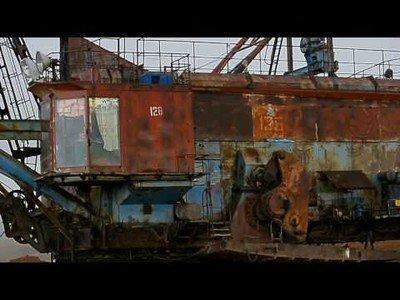 Rusia inventó en los años 60 una excavadora que podía caminar