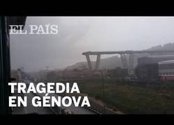 Enlace a Se derrumba un gran puente de una autopista en Italia
