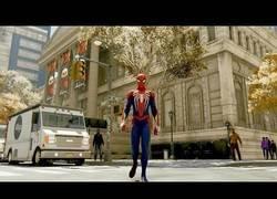 Enlace a En el nuevo videojuego de Spider-Man podrás recorrer toda New York de salto en salto