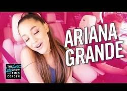 Enlace a La maravillosa Ariana Grande se sube al Carpool de James Corden