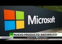 Enlace a Micrsoft se basa en el presunto 'hackeo ruso' para promocionar su nuevo producto