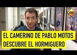 Enlace a Pablo Motos muestra su camerino de El Homiguero
