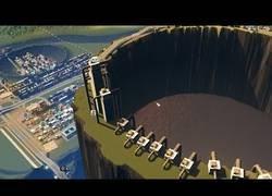Enlace a Hace explotar un volcán lleno de heces en una ciudad virtual