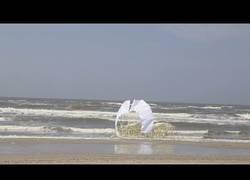 Enlace a Las nuevas esculturas de Theo Jansen que son propulsadas por el viento
