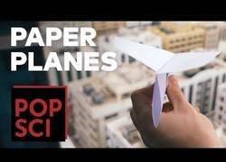 Enlace a Manual para hacer un avión de papel digno de hacer un récord del mundo