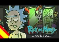 Enlace a Como describir Rick y Morty