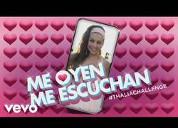 Enlace a Solo Thalía es capaz de reírse de sí misma comprando un remix de su vídeo borracha y subiéndolo a Spotify y Youtube