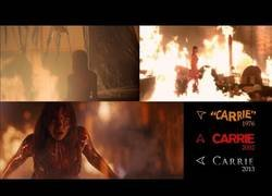 Enlace a Comparación entre las distintas versiones de Carrie