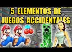 Enlace a Cinco elementos de videojuegos creados por accidente