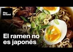 Enlace a El ramen no es japonés