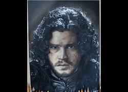 Enlace a Increíble dibujo de Jon Snow