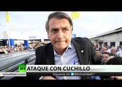 Enlace a Apuñalan en Brasil al candidato presidencial Jair Bolsonaro