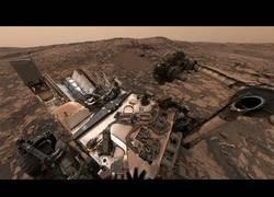 Enlace a Vídeo en 360º de la Cordillera Vera Rubin de Marte
