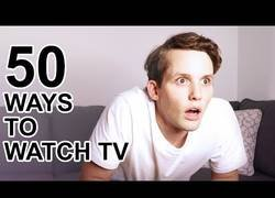 Enlace a 50 formas diferentes de la que disfrutar de la televisión