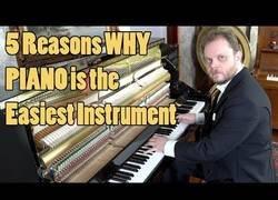 Enlace a Razones por las que el piano es el instrumento más fácil