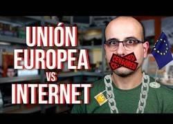 Enlace a Europa quiere censurar internet
