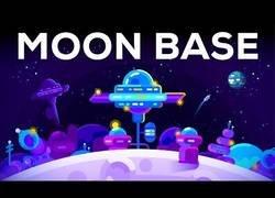 Enlace a Como podríamos montar una base en la Luna