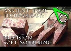 Enlace a El arte de soldar que practicaban nuestros antepasados