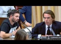 Enlace a Así se defendió Aznar, atacando a todos sin contestar nada