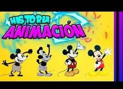 Enlace a La historia de la animación