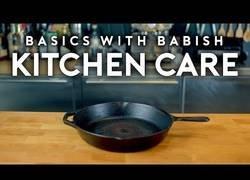 Enlace a Mantenimiento en la cocina para dejar nuestros utensilios como nuevos