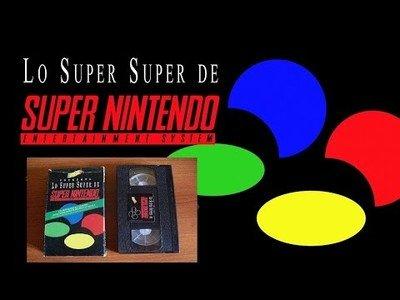 Nostalgia es recordar el vídeo de lanzamiento de la Super Nintendo